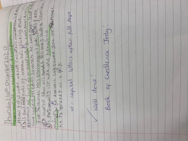 Jody's excellent writing!