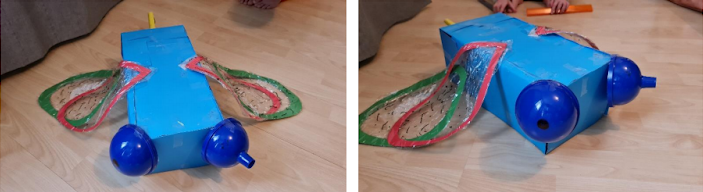 Lexi's brilliant insect model!