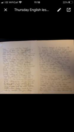 Lara's amazing writing!