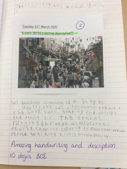 Amy's amazing writing!