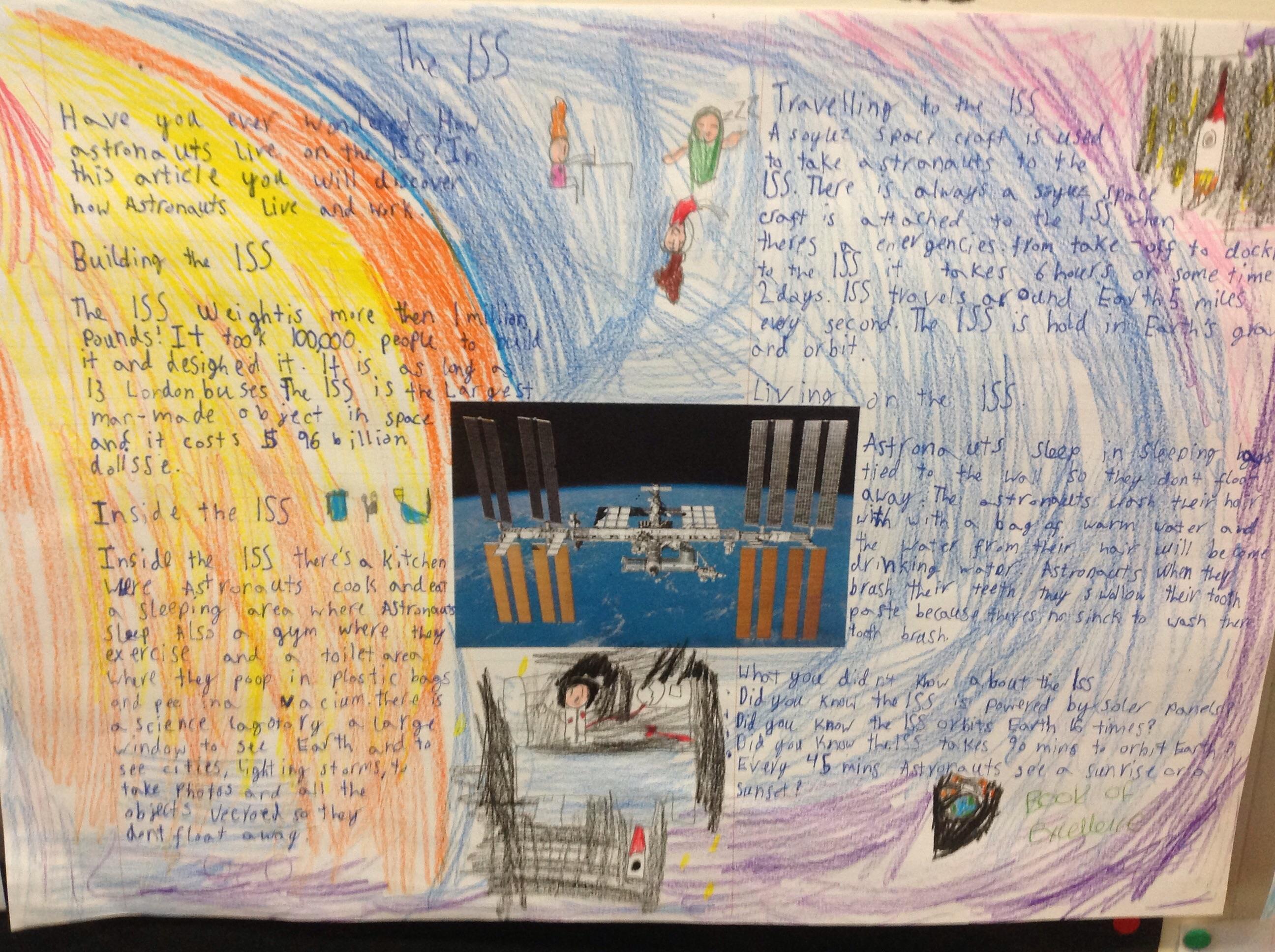 Eliza's wonderful writing!