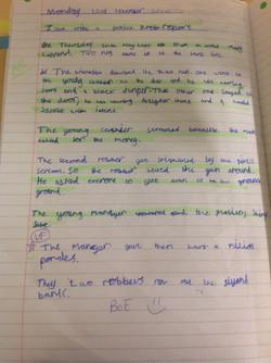 Nathan's incredible police report!