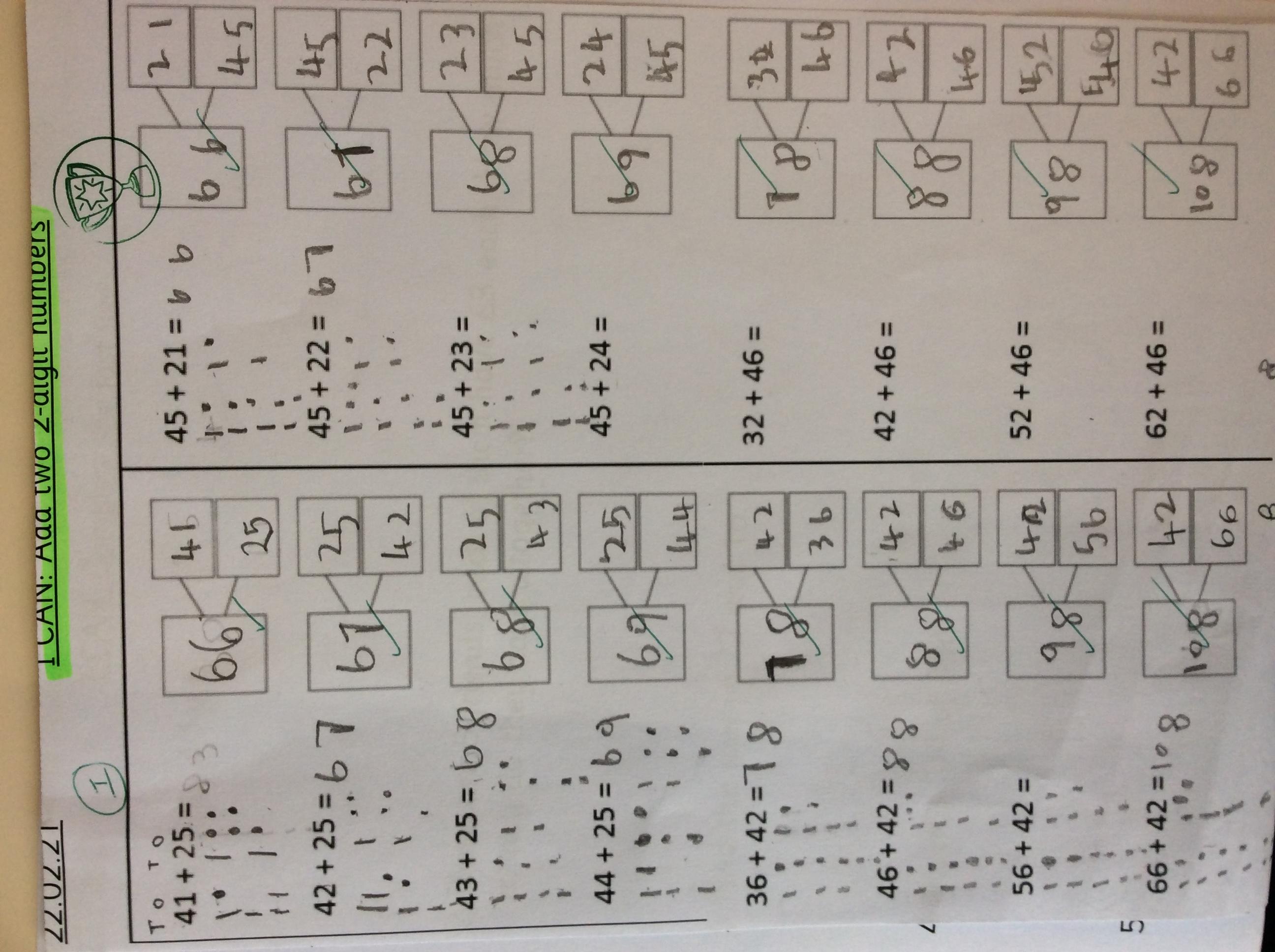 Celestine's incredible maths!