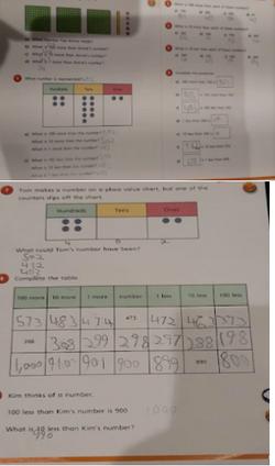 Hayden's brilliant maths!