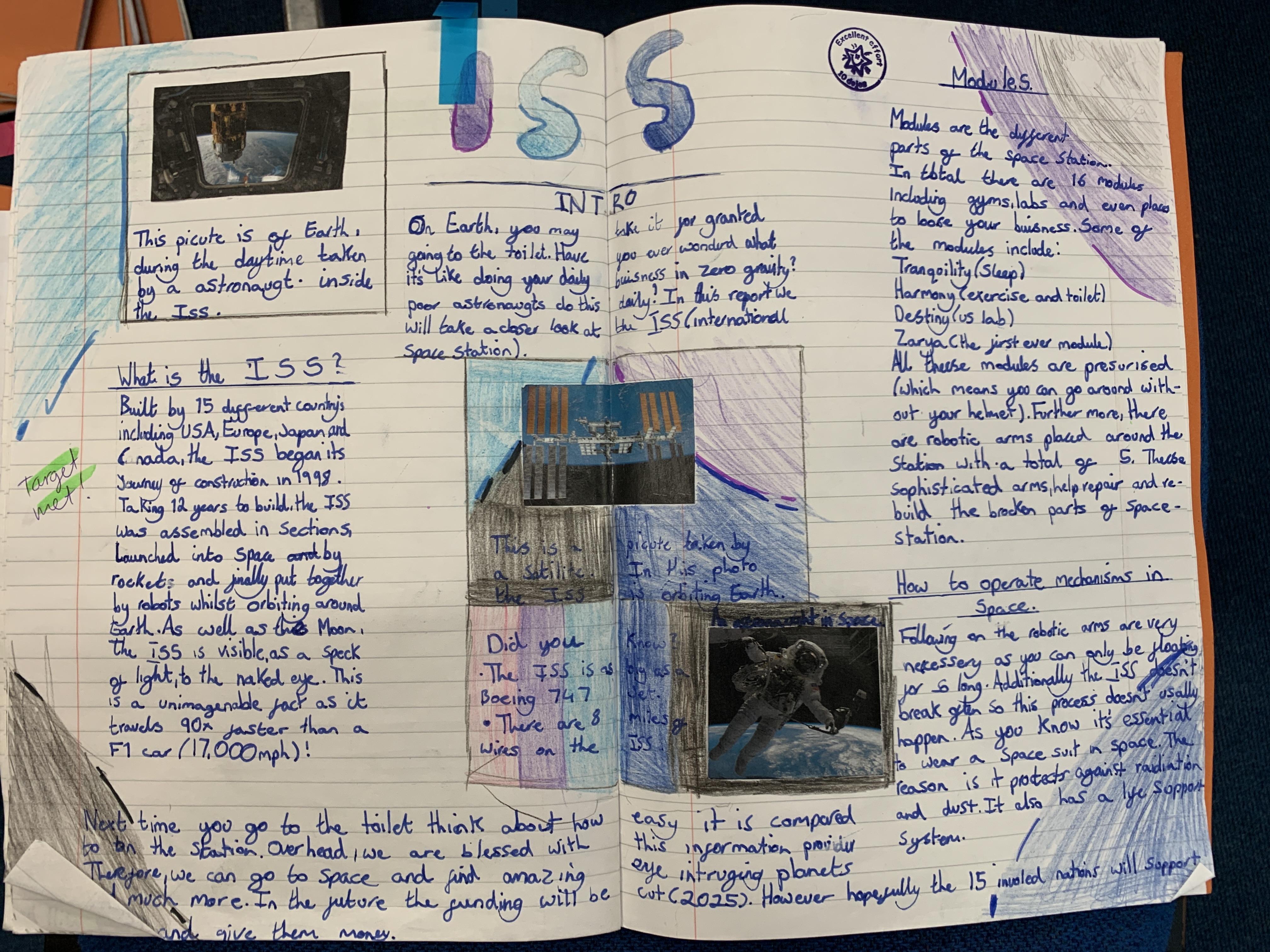 Bella's brillliant writing!