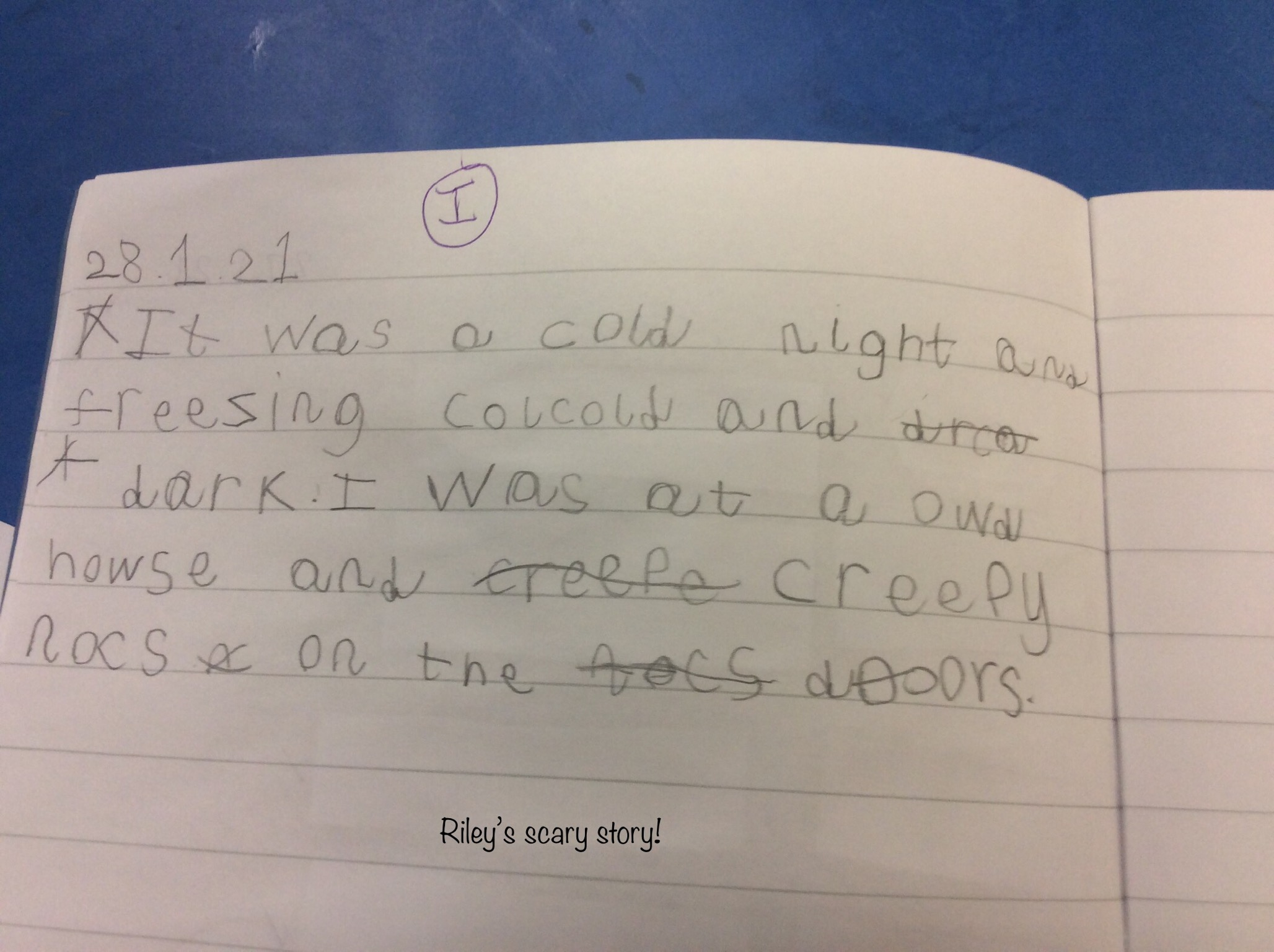 Riley's brilliant story!