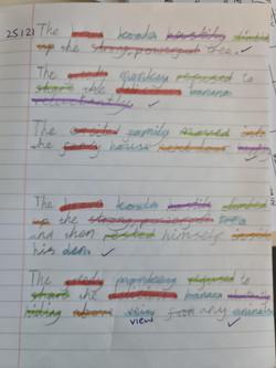 Eleni's excellent grammar!