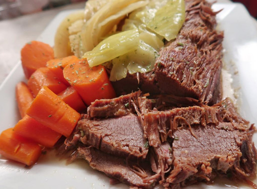 Instant Pot Corned Beef & Cabbage- AIP Compliant!