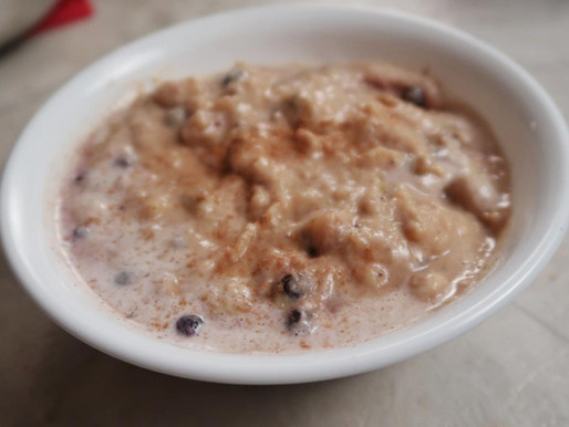 AIP Breakfast: Smashed Porridge!