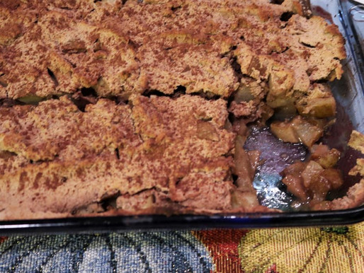 AIP Pear Cobbler