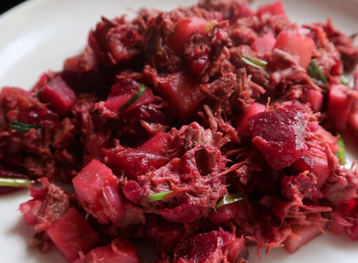 AIP Breakfast: Red Flannel Hash