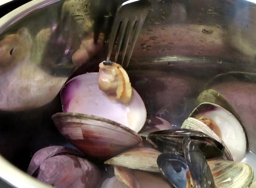 Instant Pot Clams and Mussels