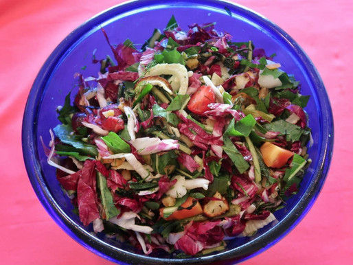 Microbiome Superfuel: Chopped Salad!
