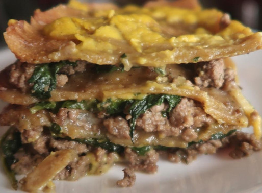AIP Queso Beef Lasagna