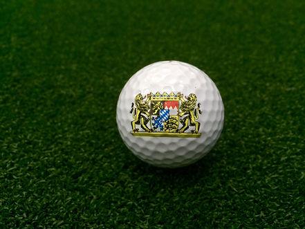 Golfballdruck Logobälle