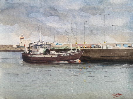 'Miranda' Howth Harbour