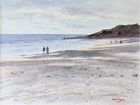 """Beachcasters on Brittas Bay """