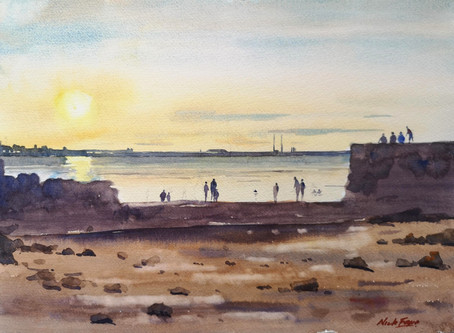 'Sunset at Sandycove'