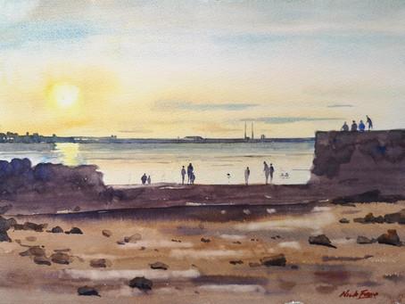 'Sunset at Sandycove'