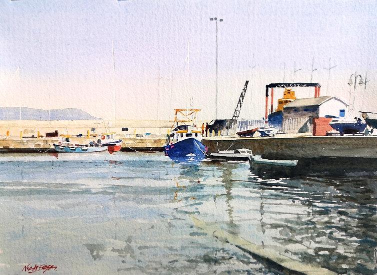 'Sunshine on West Pier'
