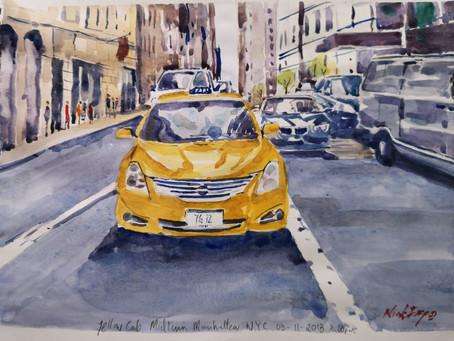 Mid Town Manhattan Taxi