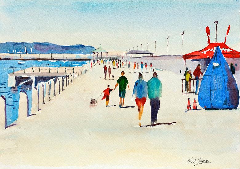 'East Pier in Summer'