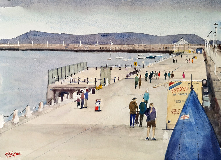 'Teddy's Ice Cream on the Pier'