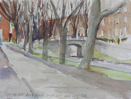 Sketch for: Percy Place Dublin 1