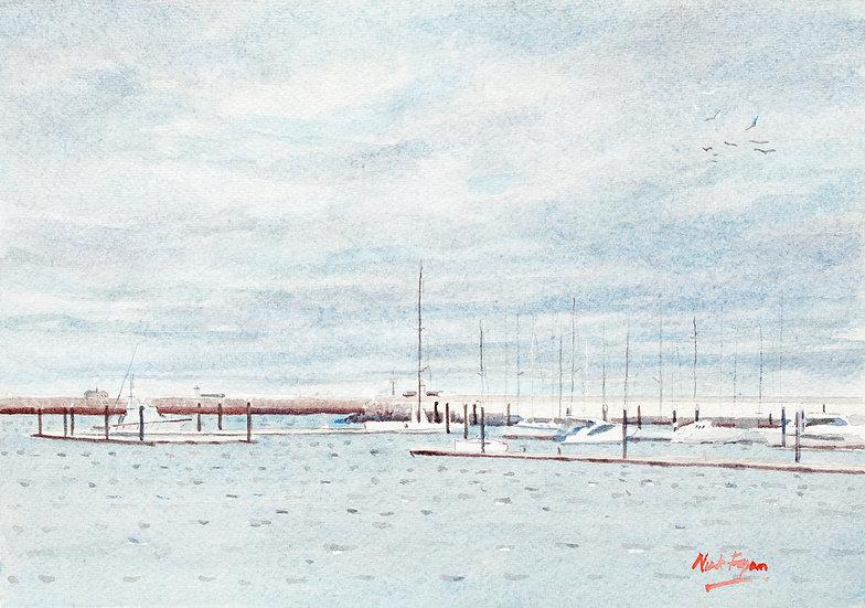 The Custom Boat. West Pier Marina
