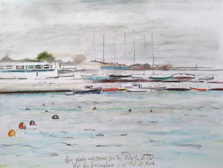 Stormy Sky, Motor Yacht Club, Dun Laoghaire.