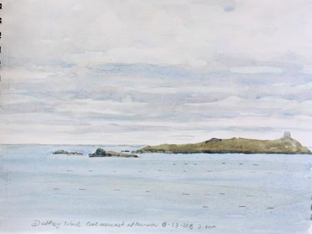 Dalkey Island overcast Afternoon.
