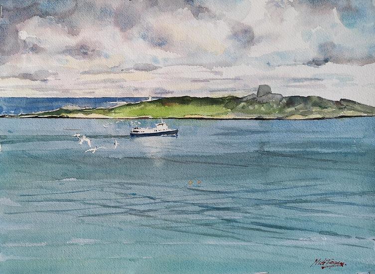'St Bridget at Dalkey Island'