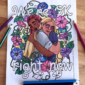 A Free Coloring Page for Everyone Struggling To Keep It Together