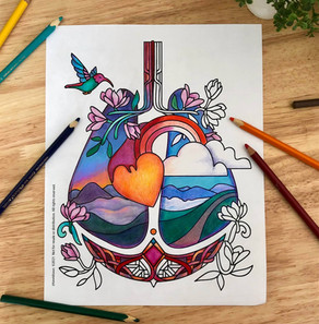 Coloring a Healthier Relationship with My Body