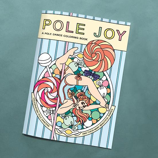 Pole Joy Coloring Book