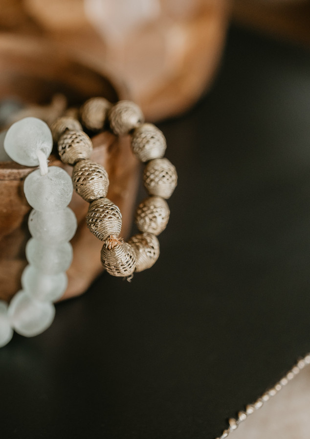 Glass Beads are a favorite go-to accent