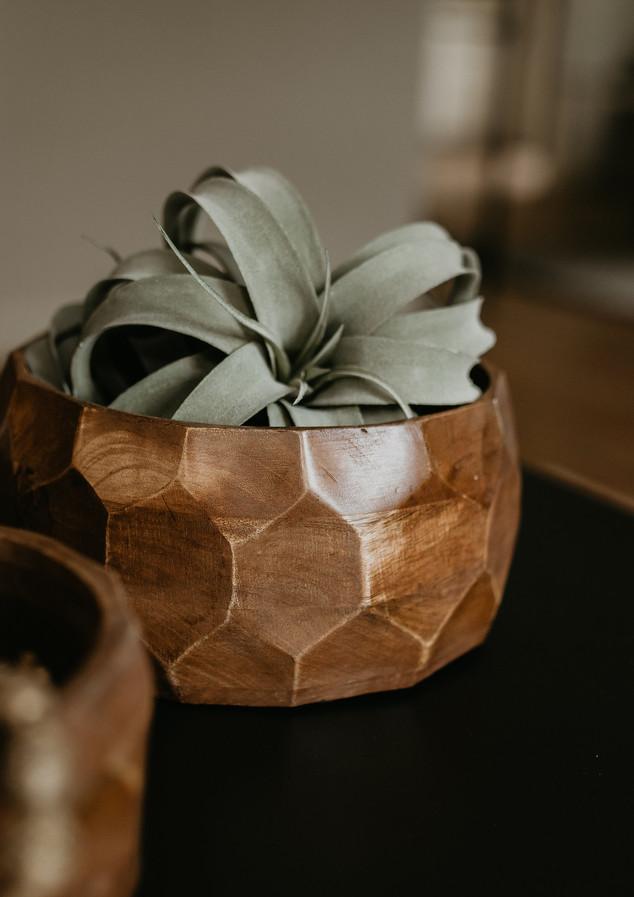 Wood Accent Bowls