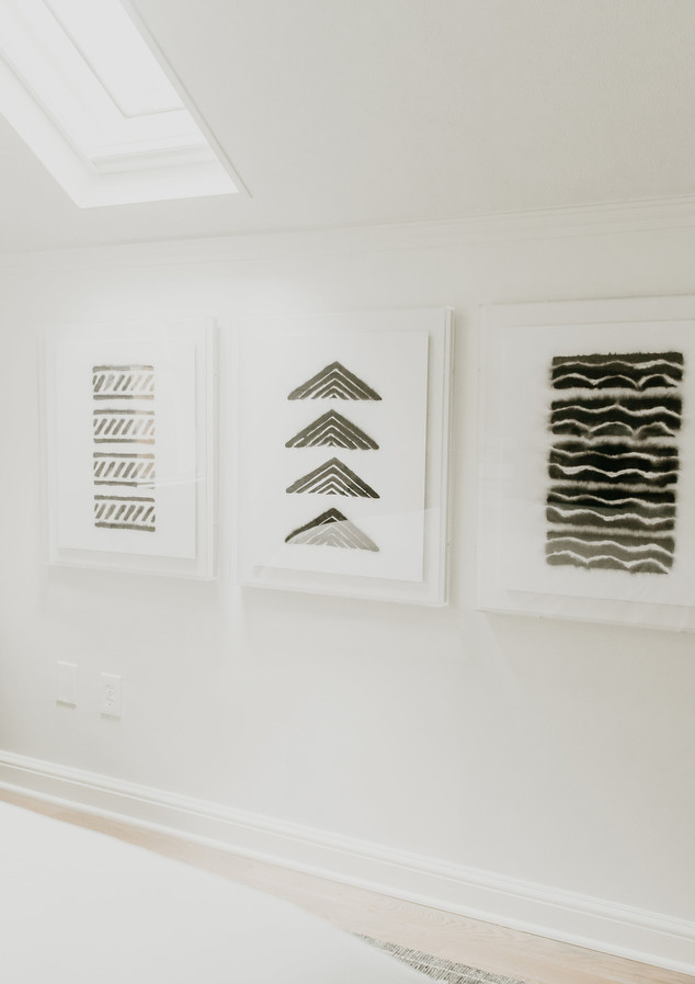 Acrylic Framed Art Set