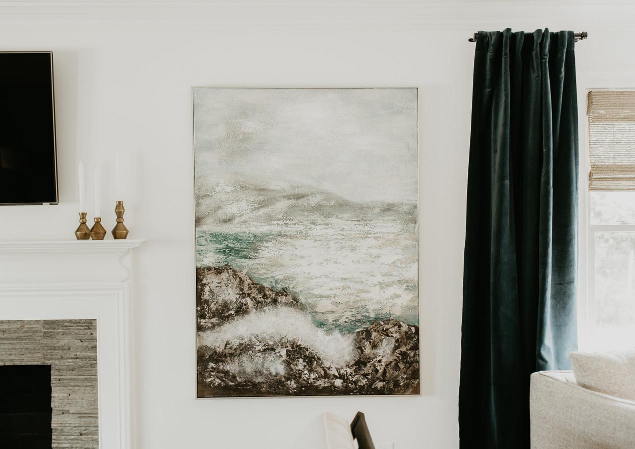 Subtle Ocean Waves Wall Art