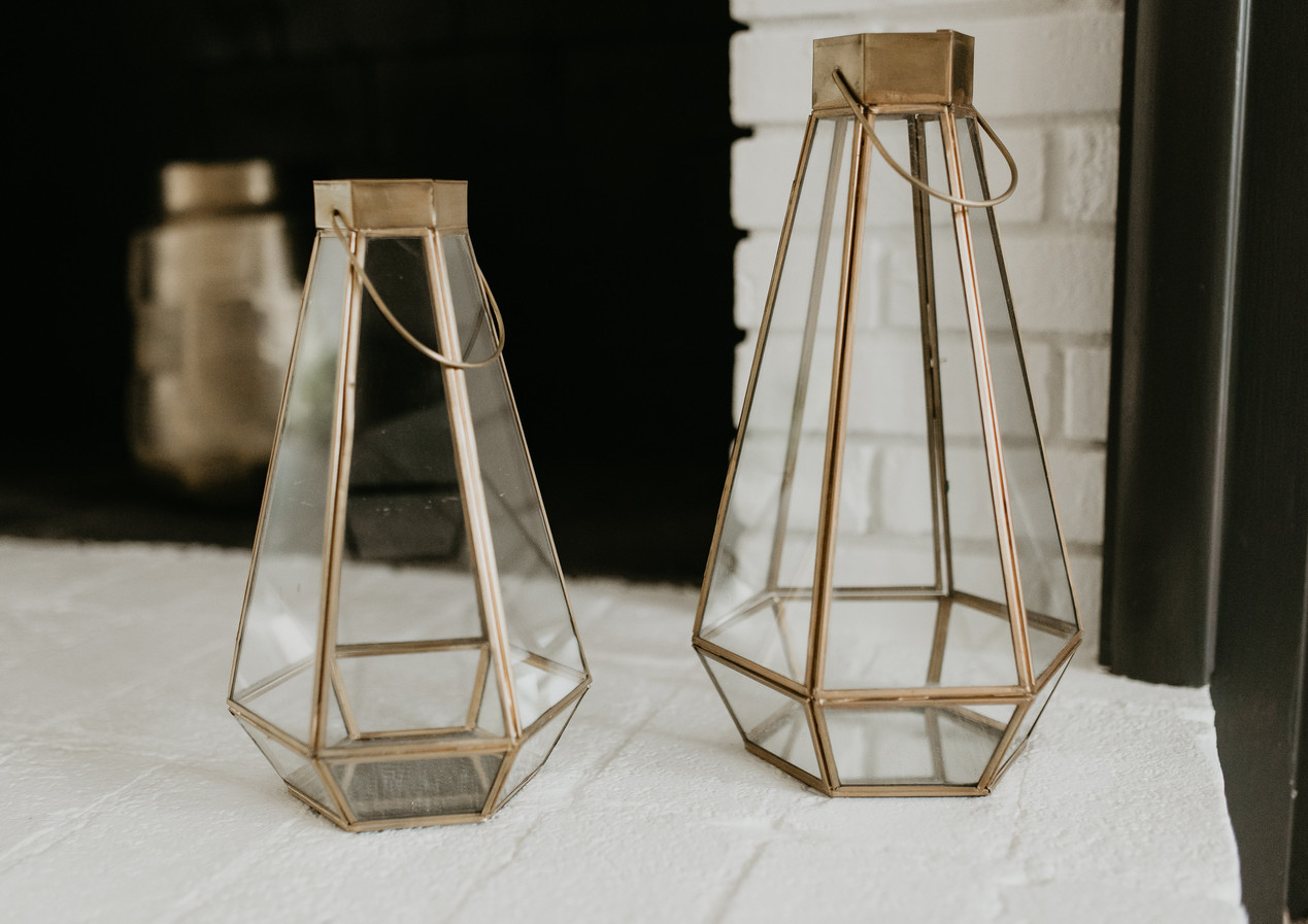 Brass Fireplace Accents
