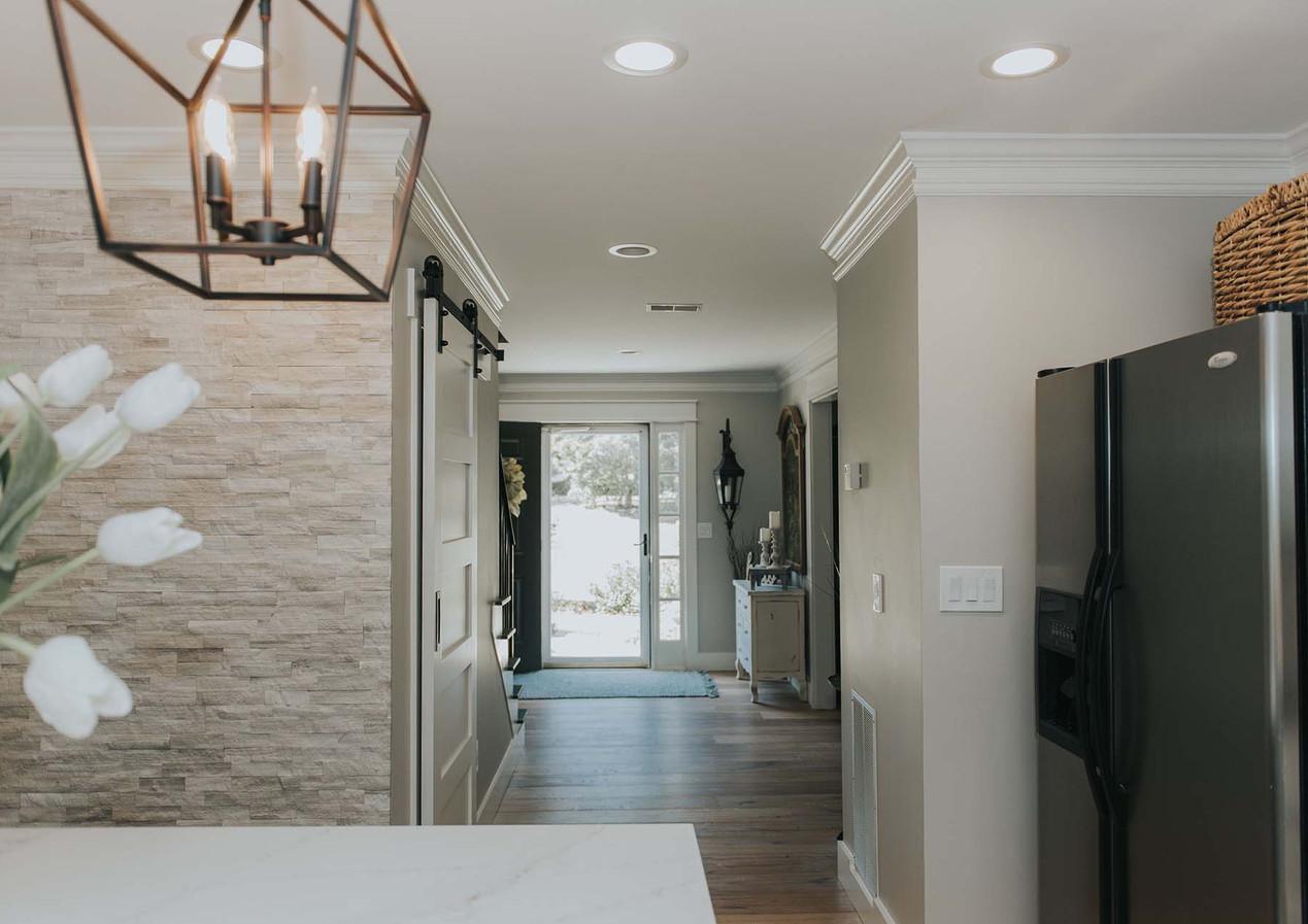 Kitchen Hallway