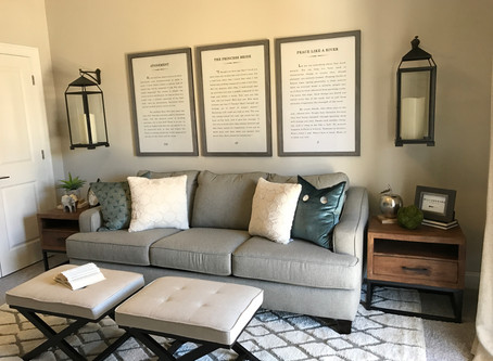 EXTRA BEDROOM BECOMES COZY LIBRARY