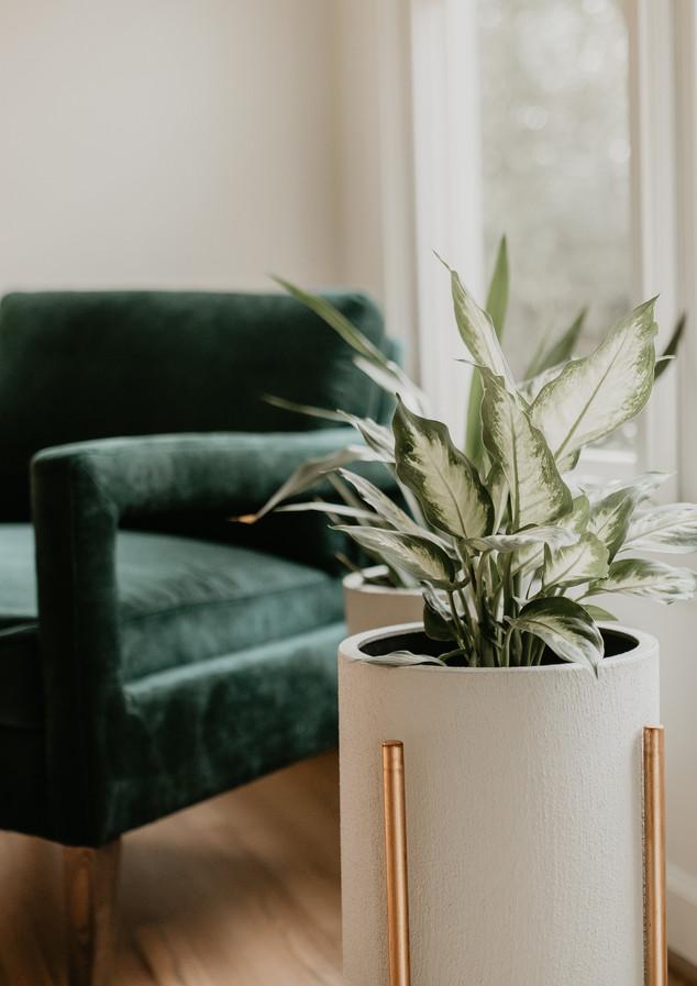Emerald Green Accent Chair