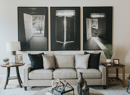 Modern Living Room - Before / After