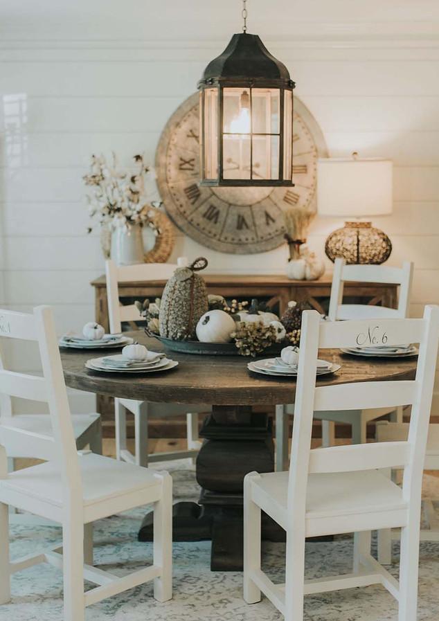 Dining Room shiplap