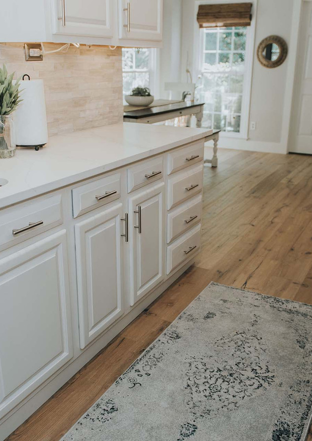 Painted Cabinets - white dove