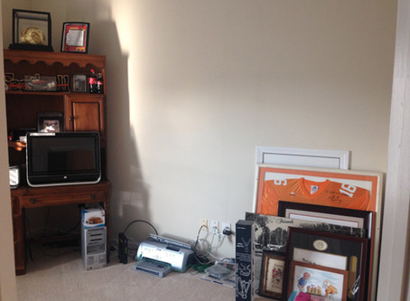 BEFORE / AFTER HOME OFFICE
