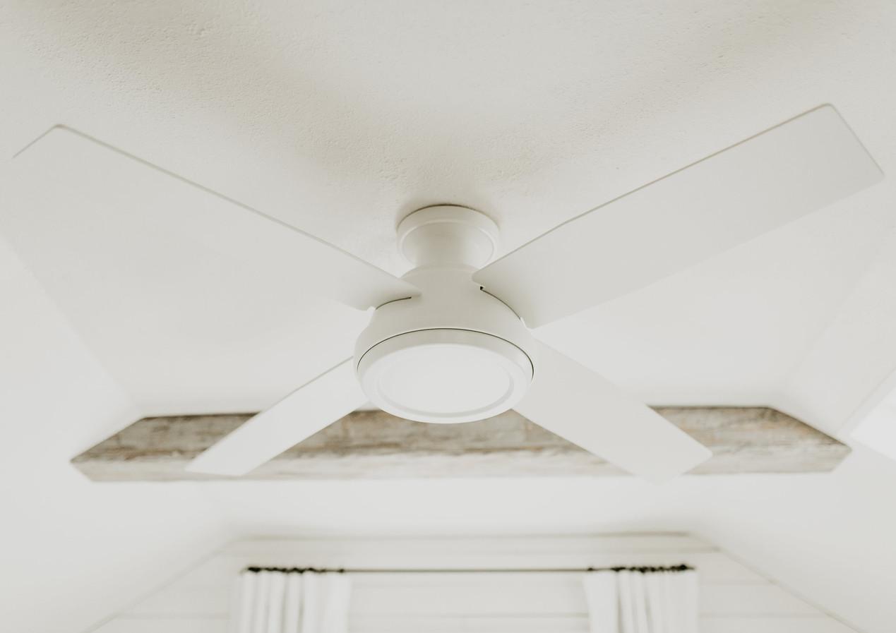 White Matte Ceiling Fan