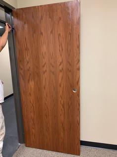 Finished Oak wood door