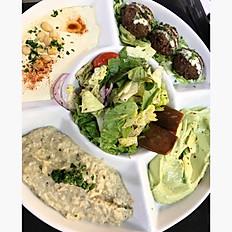 Vegetarian sampler